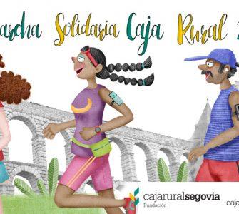 La IX Carrera Popular y Marcha Solidaria de la Fundación Caja Rural de Segovia se reinventa para volcarse con la Asociación Española Contra el Cáncer y el Banco de Alimentos.